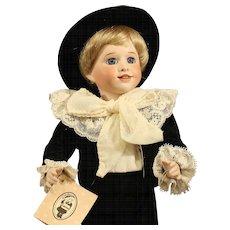 Wendy Lawton All Bisque Doll - 'Edward & Dobbin' - MIB