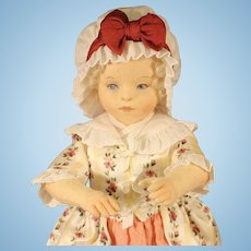 "R. John Wright Cloth Doll - ""Martha"""