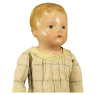Antique Rollinson Cloth Doll - Circa: 1916 - 1929