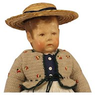 Antique  Kathe  Kruse  Doll  -  Doll 1 - wide hip