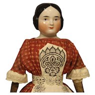 Darling Antique China Doll