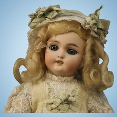 A Sweet Antique German Bisque Doll - by Simon & Halbig