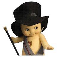 "Fabulous - 'R. John Wright' - ""Millenium Kewpie"" Doll - NRFB"