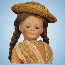 "Darling Antique ""Kestner"" Doll - - Rare Character Mold #185"