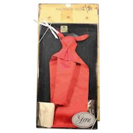 Gene Doll Fashion Clothes - NRFB - 'Ransom In Red'