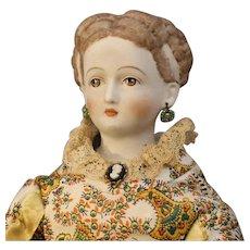 Emma Clear Doll - 'Parthenia' - Brown Hair