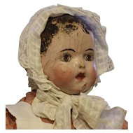 ALABAMA BABY CLOTH DOLL By Ella Gauntt Smith - cc: 1900 to 1925