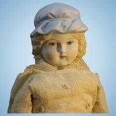 "Rare - Emma Clear Parian Doll - ""Lady Carolyn"""