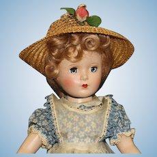 "Mint & All Original Madame Alexander ""Mc Guffy Ana"" - Hard Plastic Doll"