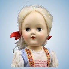 Very Cute   'Toni'   P91  Hard  Plastic  Doll