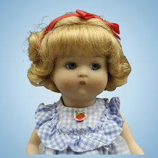 Darling 'Just Me' All Bisque Doll by Vogue for UFDC