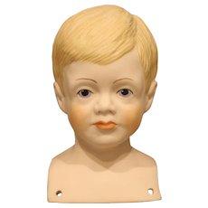 Cute Artist Doll Head by Janet E. Masteller