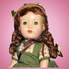 """Darling All Original - """"Honey Walker"""" Hard Plastic Doll - Circa:1947-1948"""