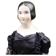 Rare - Emma Clear China Doll - 'Mona Lisa' - Circa: 1946