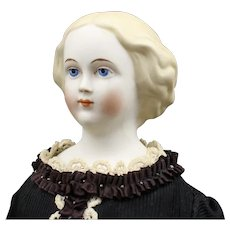 """Blonde Hair - 'Jenny Lind' by """"Emma Clear"""" Parian Doll"""