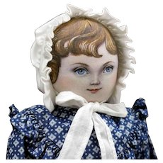 "Terrific - ""Stella"" Cloth Doll by Susan Fosnot - UFDC National Convention Souvenir Doll"