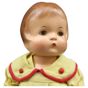"All Original - Vintage - ""Patricia"" Composition Doll By Effanbee"