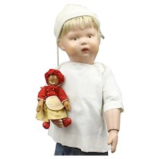 Very Cute Schoenhut Wood Doll with 'Belindy'