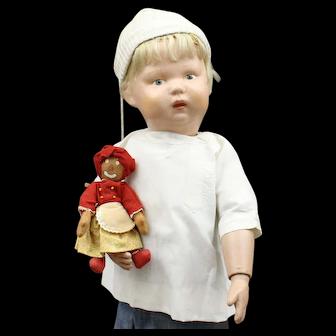 Very Cute Schoenhut Wood Doll with 'Belindy'
