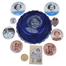 Fun  Memorabilia  of Shirley  Temple  Items