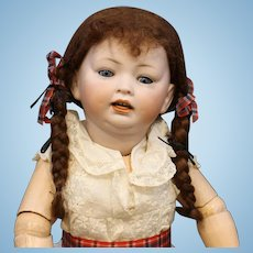 Antique German Bisque Doll by Hertel Schwab & Co. mold #152