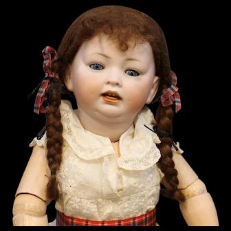 Antique German Bisque Doll by Hertel Schwab & Co. mold #152