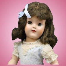 "Toni Hard Plastic - ""Sara Ann"" - P92 - 19 Inches"