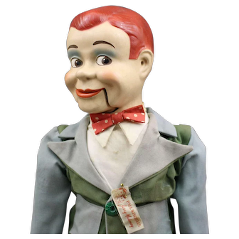 Paul Winchell's (Ventriloquest) - - Jerry Mahoney Composition Doll