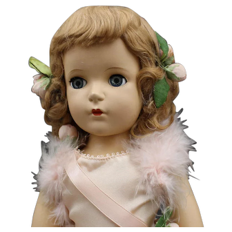 """Madame Alexander Doll - """"Babs Skater"""" - Hard Plastic in Mint Condition"""