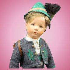 Large 20 Inch - Kathe Kruse Boy Doll