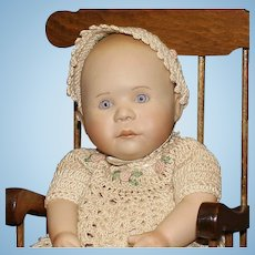 Artist Bisque Baby Doll by B. Greedy