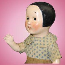"""Antique Composition Doll - - """"Ella Cinders"""" by Horsman - - circa:1928-1929"""