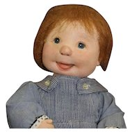 American Cloth Doll by Dianne Dengel with Cute Smile