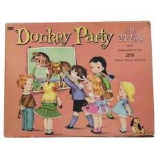 "Great Doll Accessory - ""Pin The Tail On The Donkey"" game."