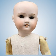 Antique German Bisque Doll (Ready To Dress) - 'AM #390'