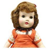 "Vintage Hard Plastic Doll - ""Honey"" Walker"
