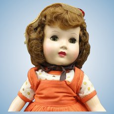 "Vintage Hard Plastic Doll - ""Honey"" Walker"