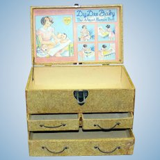 Dy-Dee Doll Layette/Dresser/Trunk with Graphics