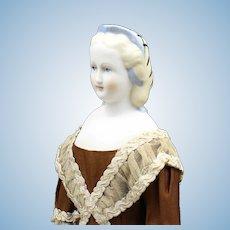 """Splendid 'Emma Clear' Parian Doll - """"Linda"""" - No Corset"""