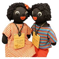 Master & Miss Cloth Dolls by 'Countrylife' of New Zealand