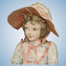 "Very Rare ""Norah Wellings"" Cloth Doll"