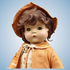 """All Original - Vintage - """"Patsy Ann"""" Composition Doll By Effanbee"""