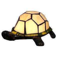 "Tiffany Style Desk Lamp - ""Turtle"""