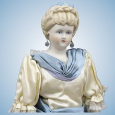"Exquisite ""Grace Lathrop""  Parian  Doll  -  All Original"