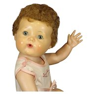 VINTAGE 'TINY TEARS' DOLL With ORIGINAL OUTFIT