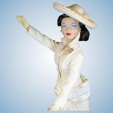 "16 Inch Gene Fahion Doll  ""White Hyacinth"""