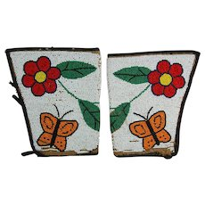 Plateau Beadwork Cuffs Native American First Nations Beaded