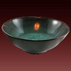 American Studio Pottery Bowl Ceramic Louis Mideke Washington