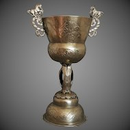 Spanish Colonial Chalice Standing Cup COPA