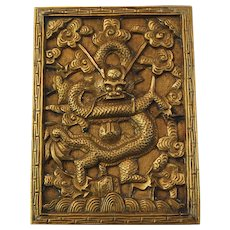 Chinese Imperial Dragon Scroll Weight Paper Weight
